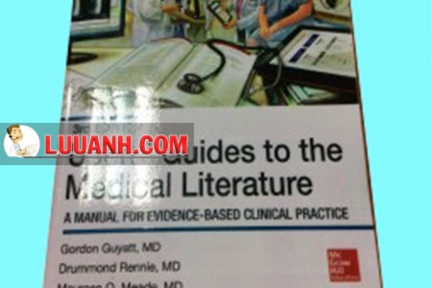 Góc review sách: Users' Guides to the Medical Literature