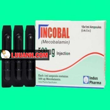 Incobal 500mcg Injection