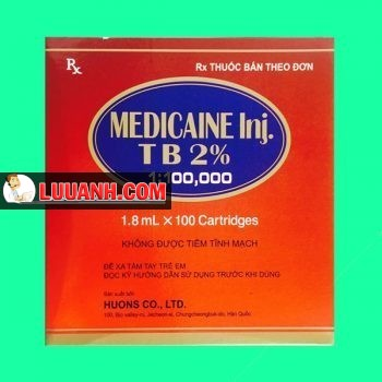 Medicaine injection 2%